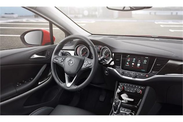 Opel Astra İçi