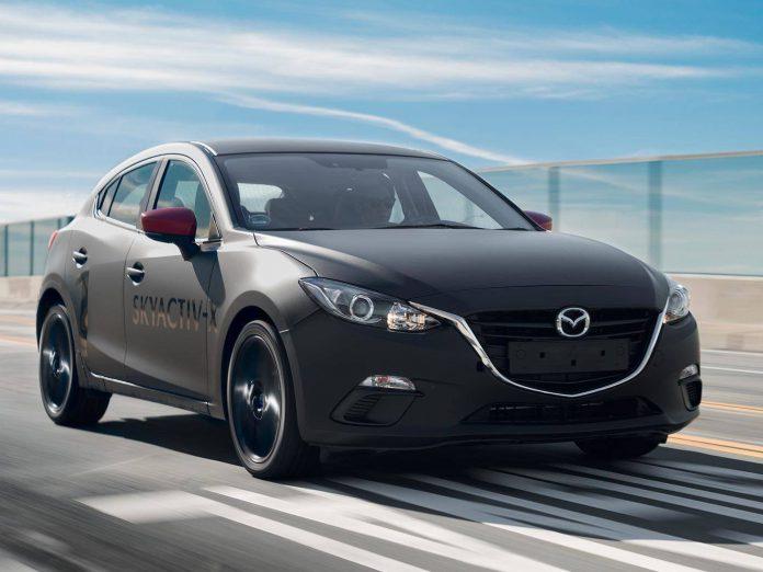 Mazda Skyactiv X Prototipi