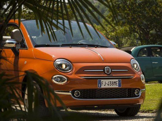 Fiat 500c Anniversario görselleri