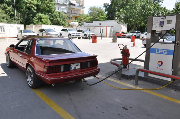 LPG'li Ford Mustang