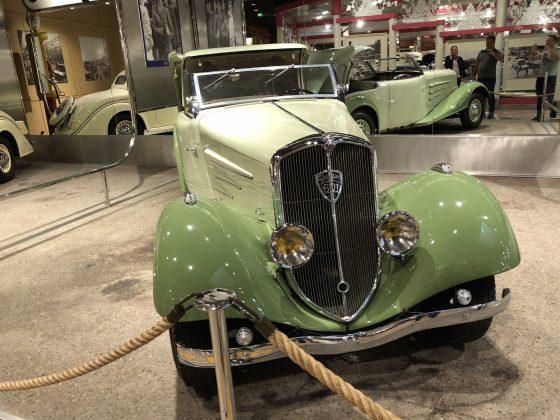 Peugeot müzesi klasik