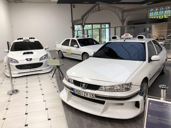 Peugeot müzesi taksi filmi