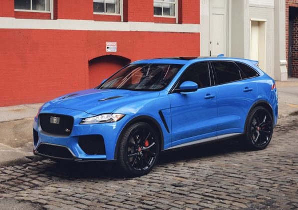 2018 model Jaguar F-Pace SVR