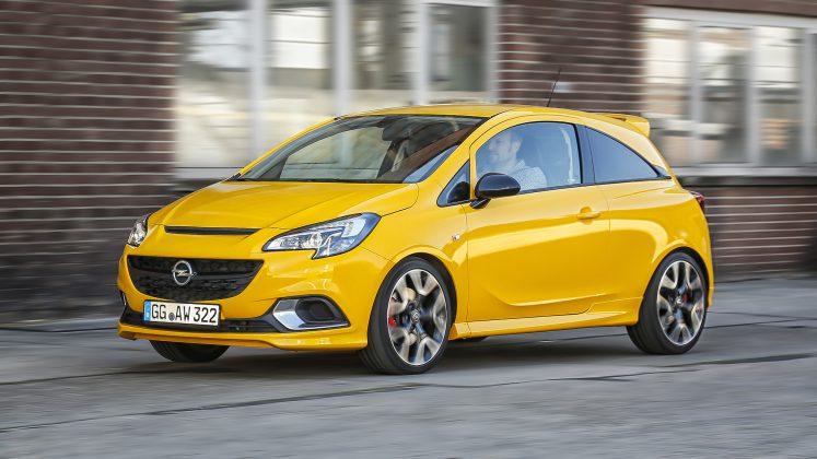2018 model Opel Corsa GSi sarı