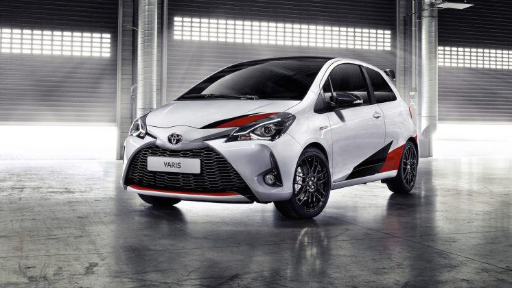 2018 model Toyota Yaris GRMN