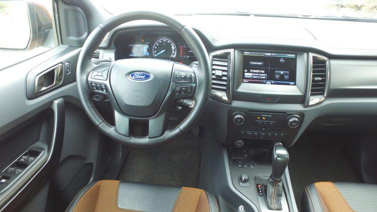 Ford Ranger Wildtrak iç mekan görselleri