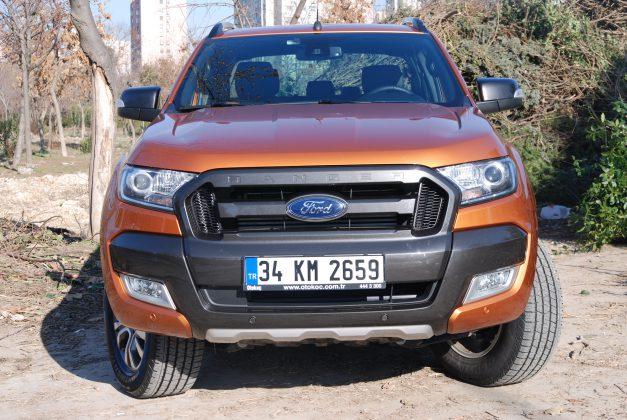 Ford Ranger Wildtrak önden görünüm