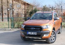 2018 model ford ranger wildtrak