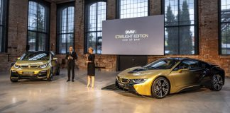 BMW i3 ve i8 Starlight Edition