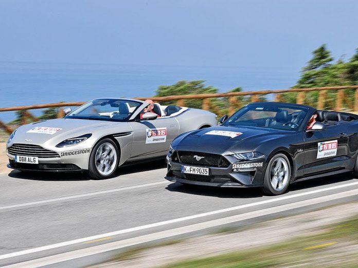Ford Mustang Convertible V8 &Aston Martin DB11 Volante karışılaştırması