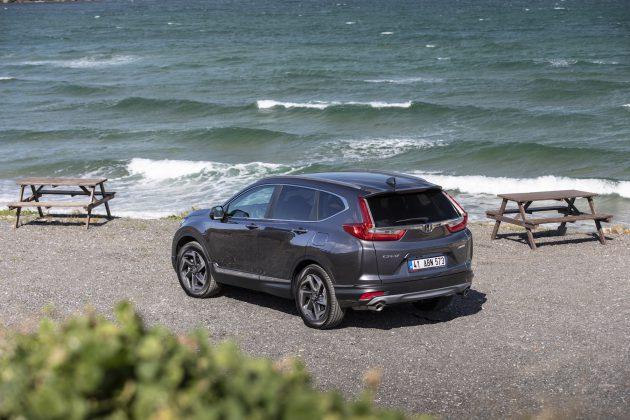 Yeni Honda CRV test