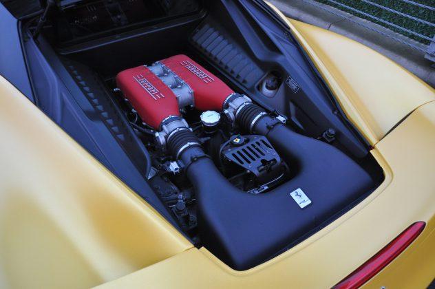 Ferrari 458 Italia motoru