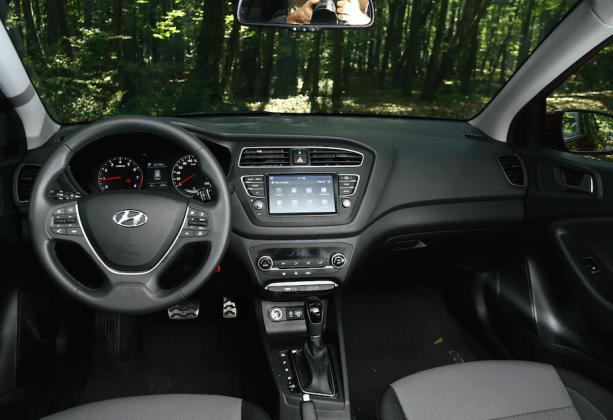 Hyundai i20 Active İçi