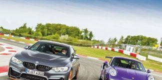 BMW M4 GTS ve Porsche GT3 RS