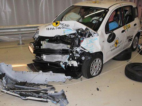 Fiat Panda Euro NCAP'ten 0 mı aldı?Fiat Panda Euro NCAP çarpışma testlerini geçemedi mi?