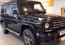 Model Mercedes G 350 d 4Matic