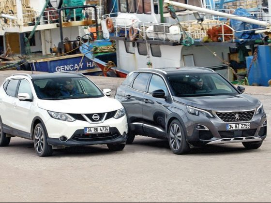 Nissan Qashqai& Peugeot 3008 karşılaştırması