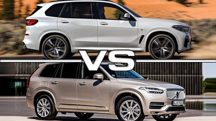 BMW X5 & Volvo XC90