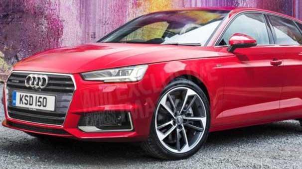 Audi A3 2019 Kirmizi