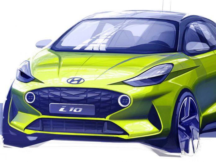 2020 Hyundai i10 Çizimi