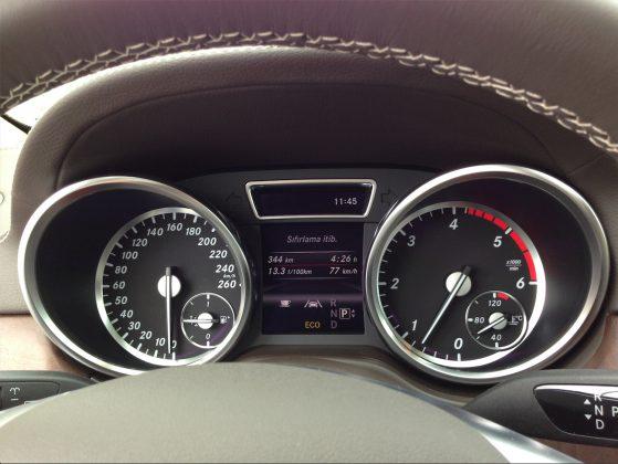 2013 Mercedes-Benz GL 350 Testi