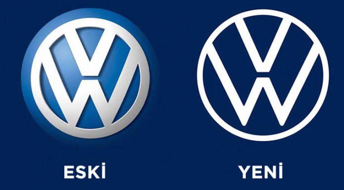 Yeni ve Eski VW logolari