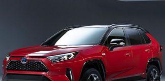 2021 Hibrid Toyota RAV4