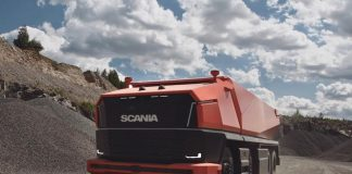 Scania AXL Otonom Kamyonları