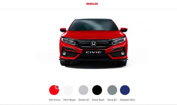 Honda Civic HB 2020