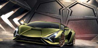 Hibrit Lamborghini Sian
