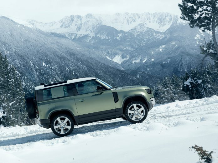 Kapak Yeni Land Rover Defender