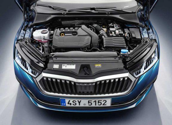 Skoda Octavia 2020 Motoru