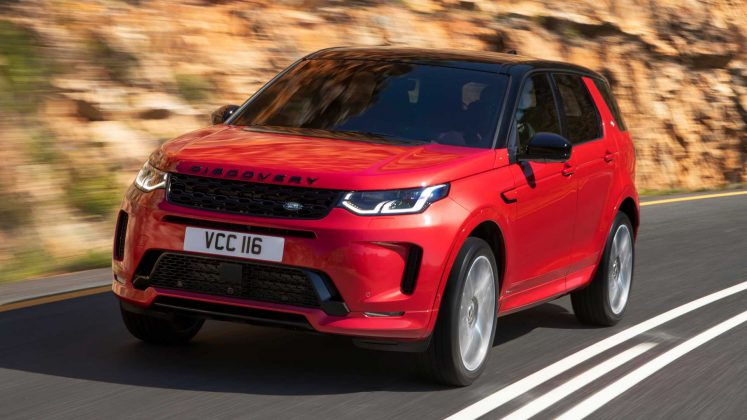 Yeni Land Rover Discovery