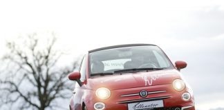 3 tekerlekli Fiat 500