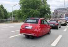 Fiat 500 3 Tekerlek