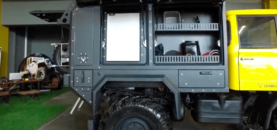 Unimog U600 Crawler