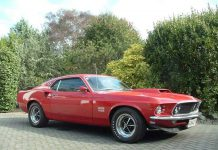 Mustang - restorasyon