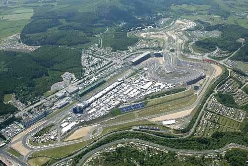 Vettel Nürburgring