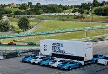 Porsche Turbo Charging Seyyar Şarj İstasyonu