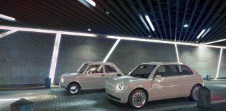 modern retro arabalar