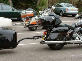 Motosiklet Römorku