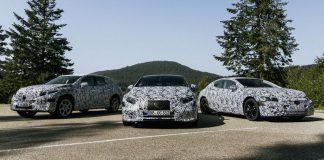 Mercedes EQS ve EQE