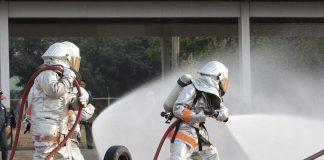 görünmez metanol yangını