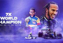 Hamilton 7.kez dünya şampiyonu !