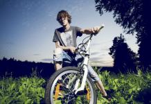 bisiklet kazaları için dikkat