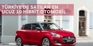 türkiyede satılan en ucuz hibrit otomobiller listesi