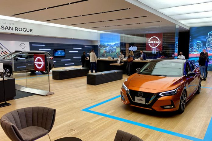 Nissan Sanal Showroom