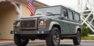 Yükseltilmiş Land Rover Defender