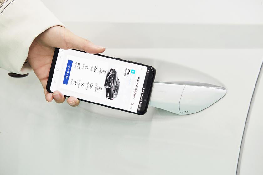 Hyundai Dijital Anahtar Teknolojisi