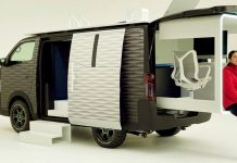 NV350 Caravan Office Pod;